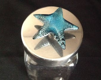 Star fish glass container