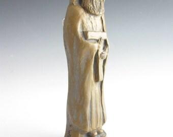 St. Joseph: For a Peaceful Death; Handmade Statue