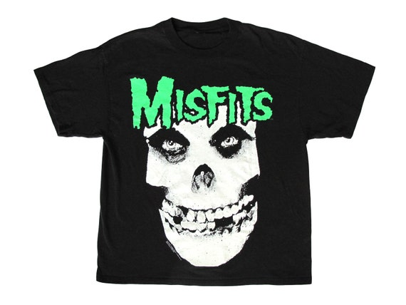 Misfits Glow in the Dark Skull T-Shirt