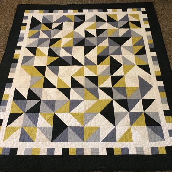 Modern Abstract Lap Quilt - Made to Order