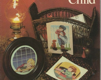 Yesterday's Child Cross Stitch Book by June Grigg -- Book 23