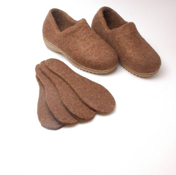 Cleverbrand - Plantillas de corcho para hombres, marrón
