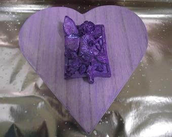 Jewellery box, fairy, heart shaped , storage, hippy, goth, pixie