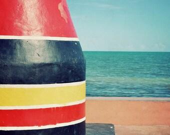 Southernmost Point - Florida photography, Key West, Florida Keys, ocean artwork, Key West art
