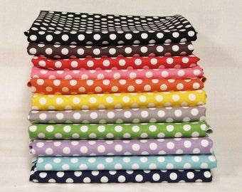 Riley Blake Small Dots bundle - 11 Fat Quarters
