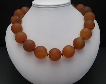 Orange Carnelian Necklace