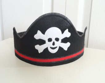 Pirate Hat Crown- Ready to Ship Next Day