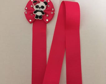 Bling Panda Bow Holder