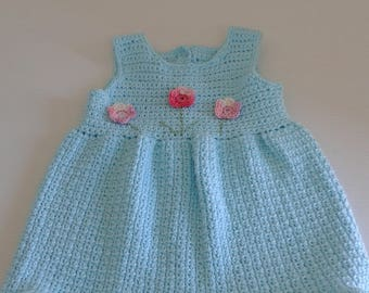Toddlers Dress with Flowers