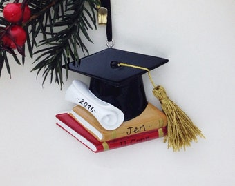 Personalized Graduation Christmas Ornament / College Graduation Ornament / High School Graduation / Graduate Program