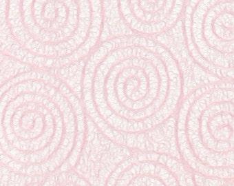 Japanese Uzumaki tissue - baby pink, 2 letter-sized sheets