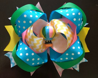Hot air balloon hairbow