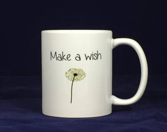 Funny motivational mugsMake a wish - Lizard print
