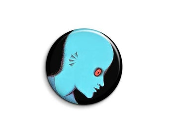 Fantastic Planet 1076 - pinback button or magnet 1.5 Inch
