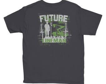 Future Lineman Youth Shirt