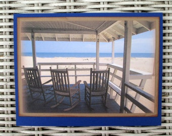 Outer Banks Notecards, Beach House Notecards,  Old Nags Head Cottage Cards