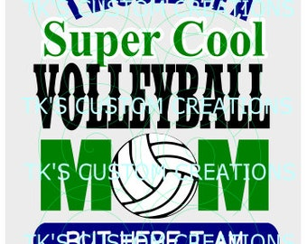 SuperCool Volleyball Mom