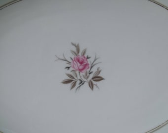 """Noritake DARYL 16"""" Oval Serving Platter EXCELLENT CONDITION"""