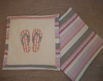 Sandle Applique Pot Holder