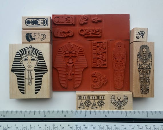 Ink Stamp Wood Block Stamp Rubber Stamp Invitation Making