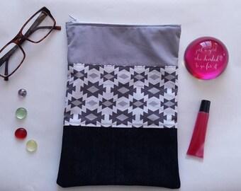 Grey Southwestern Bag