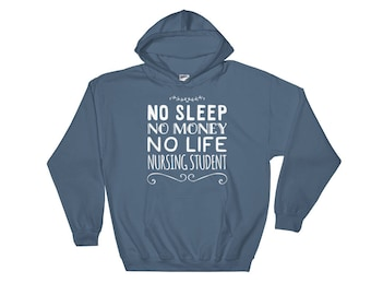 Nursing School Gift, Nursing Student, Nurse Gifts, Nurse Graduation, Nurse Appreciation, Registered Nurse, RN, LPN, Nurse Hoodie Sweatshirt