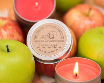 6 Ounce Hand Poured Soy Candles in Many Fragrances