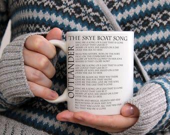 Outlander Coffee Mug Skye Boat Song JAMMF Jamie Fraser