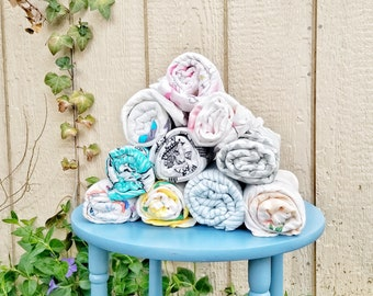 100% Cotton Muslin Baby Swaddles