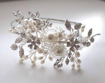 Freya Tiara Bridal Headband