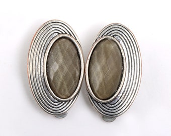 Vintage clip earrings, vintage earrings, clip on, clip on earrings, costume earrings, earrings, non pierced earrings, costume jewelry, retro
