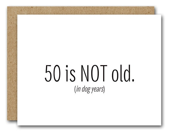 50th Birthday Card Instant Download Funny 50th Birthday
