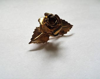 Vintage Flower Pin, Vintage Flower Brooch, Pins, Brooches, Vintage Jewelry, Gifts for Her, Flowers, Gold Tone Jewelry, Vintage Wedding