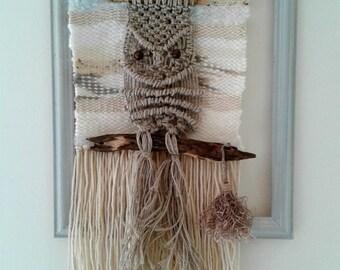 Weaving - Macramé - modern weaving - Wallart - wall decoration