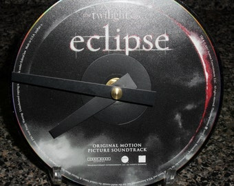 Twilight Eclipse CD Clock