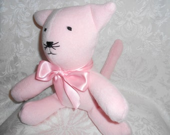 Stuffed Pink Kitty