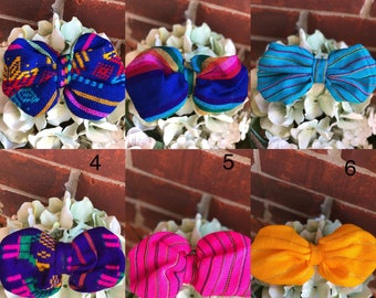 Mexican hair bows Moños mexicanos
