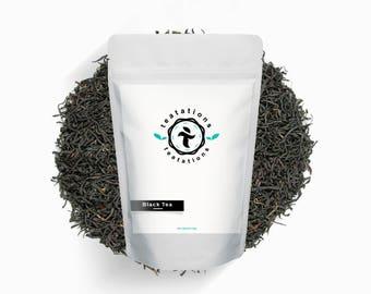 BLACK TEA COLLECTION - Gift For Tea Lover - Tea Gift Set - Loose Lesf Tea Sample - 8 x 10g Bags