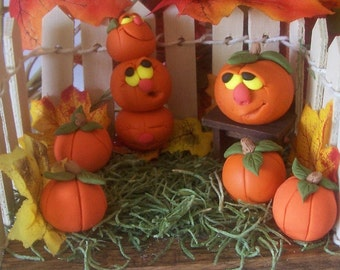 We're all going to be pie soon, Pumpkin patch figurine