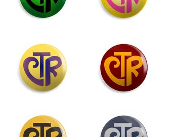 Choose the Right - CTR Button Pins, Magnets,  | LDS | Primary | Mormon | activity days | Baptism | Birthday