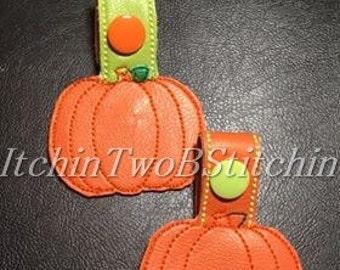 Pumpkin key fob