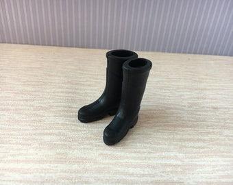 Miniature Rain Boots 1/12 scale