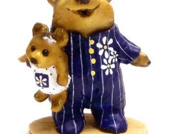 Wee Forest Folk BB-10 Nightie Bear Classic Special (RETIRED)