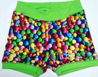 Rainbow Treats Fitted Youth Shorts