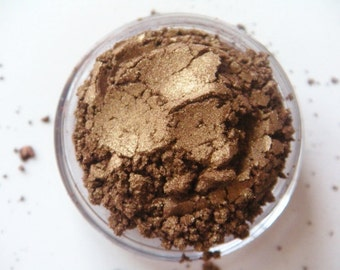 Golden Brown- All Natural Mineral Eyeshadow