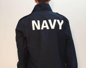 Army Surplus German Military Navy Jacket