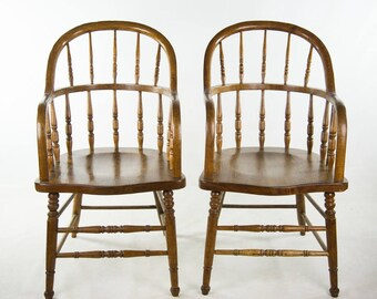 Set of Two Brighton  Style Bentwood Chairs