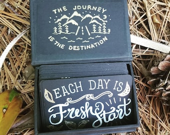 Gift Box with Inspirational Quotes