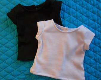 Clothes for 8 inch doll, Short Sleeve T-shirt