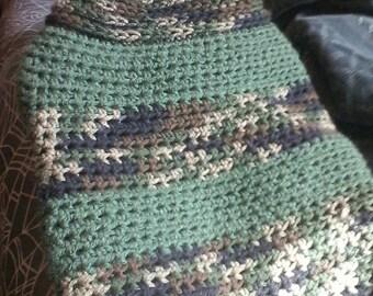 Camo pitbull puppy sweater